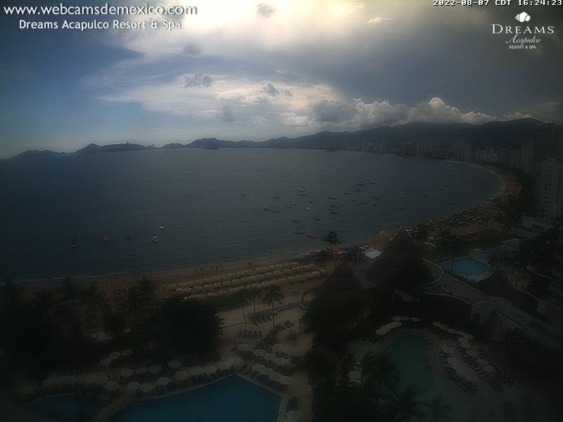 Webcam For The Port Of Acapulco
