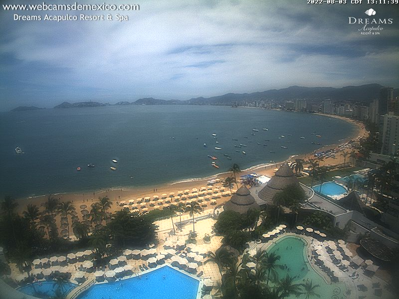 Webcam en vivo desde Acapulco