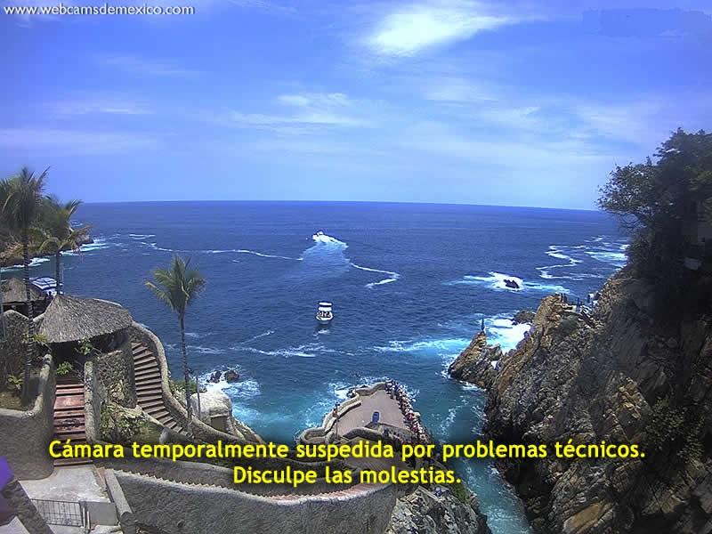 Acapulco Quebrada in Guerrero, Mexico