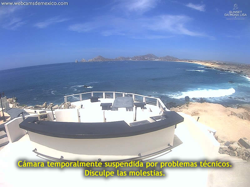 Cabo San Lucas webcam - Restaurante Sunset da Mona Lisa webcam, Baja California Sur, Los Cabos