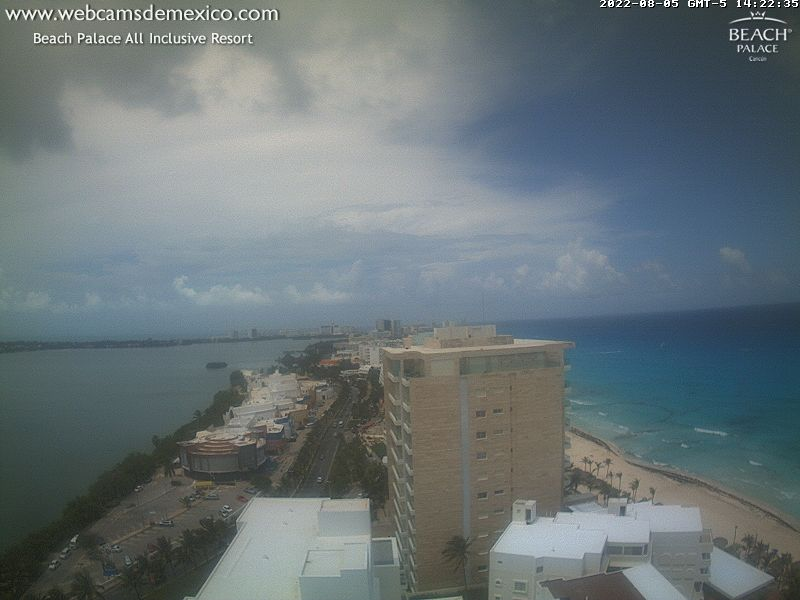 Cancun webcam - Cancun Panorama webcam, Quintana Roo, Benito Juarez