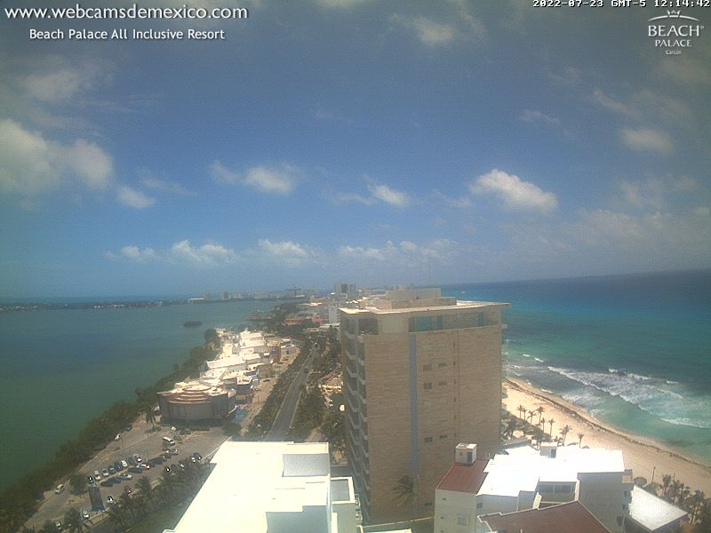 Cancun webcam - Hotel Beach Palace Cancun webcam, Quintana Roo, Benito Juarez