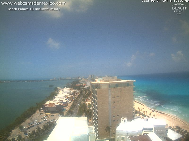 Webcam Cancun - Mexico Live webcamera