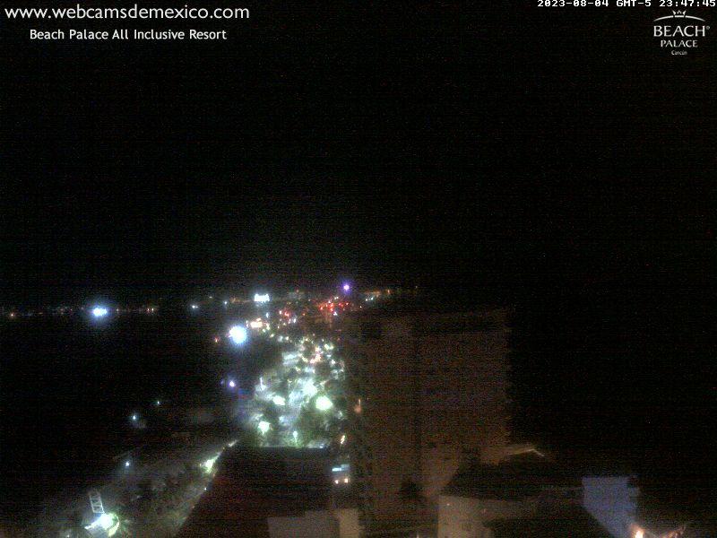 Webcam Cancun - Mexico