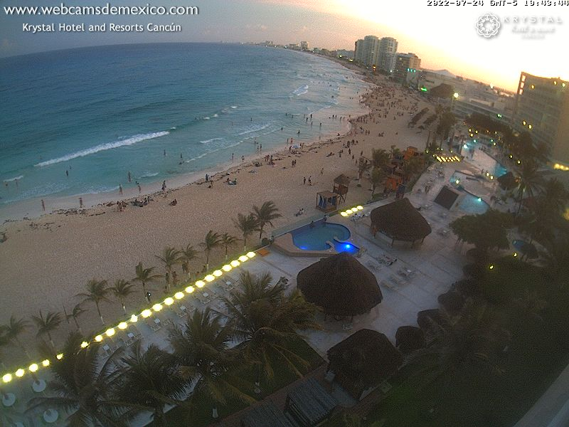Cancun webcam - Cancun, Quintana Roo webcam, Quintana Roo, Benito Juarez