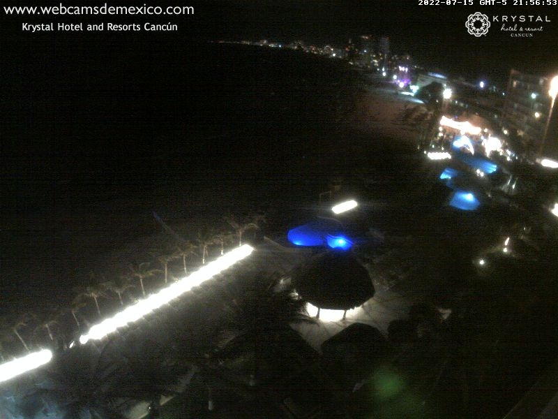 Cancun beach Live Cam, Mexico