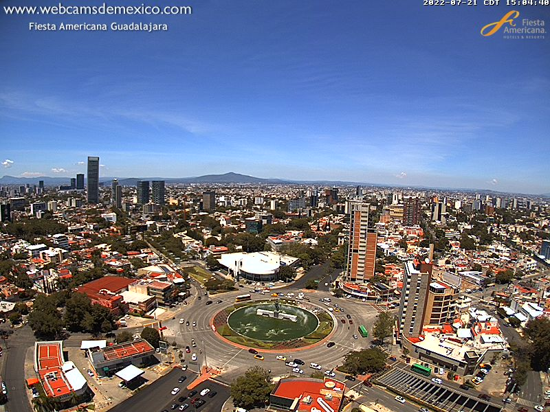 web cam Guadalajara México