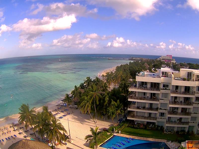 Isla Mujeres webcam - Ixchel Beach Hotel webcam, Quintana Roo, Quintana Roo