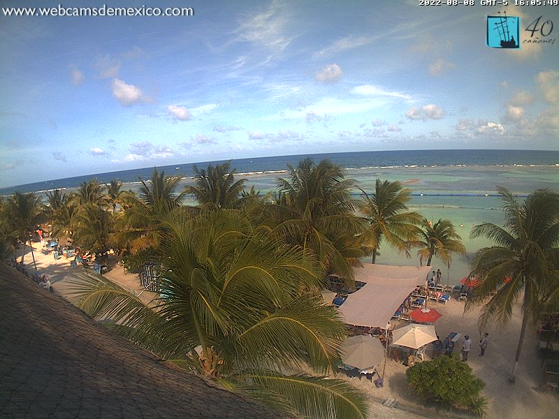 Mahahual webcam - Ko`ox Quinto Sole Boutique Hotel webcam, Quintana Roo, Costa Maya