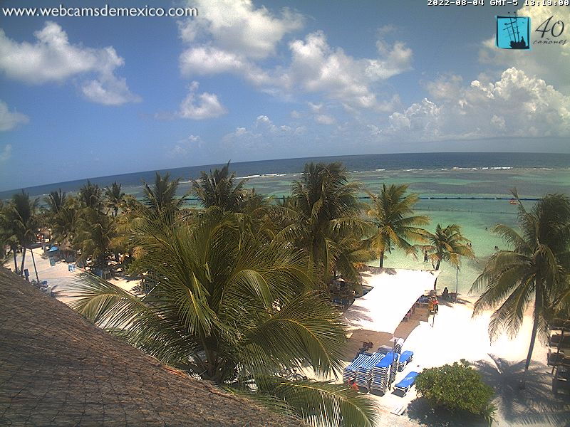 Webcam For The Port Of Costa Maya