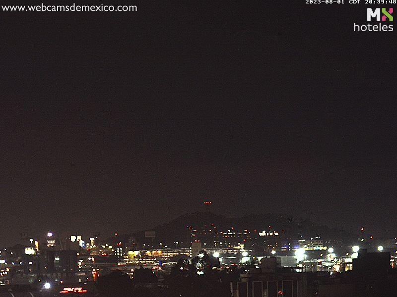 Webcam del Aeropuerto Internacional de la Ciudad de México