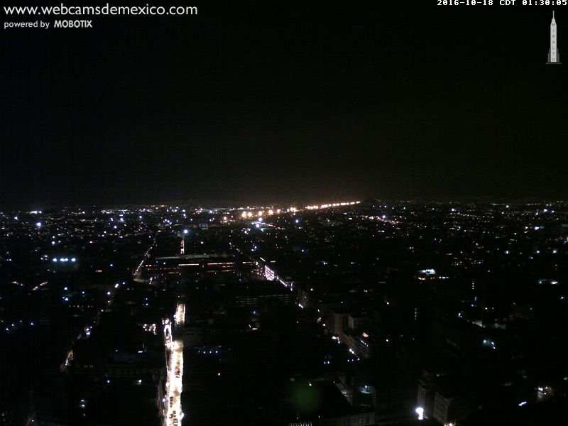 Webcam Mexico City - Torre Latino E