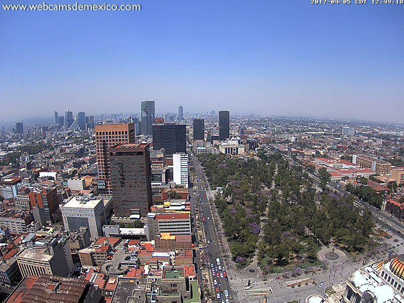 Webcam: Città del Messico, Messico
