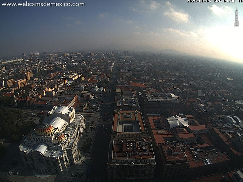 Webcam Mexico City - Torre Latino N