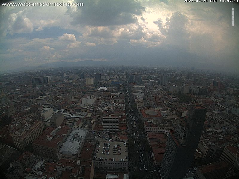 Webcam Mexico City - Torre Latino S