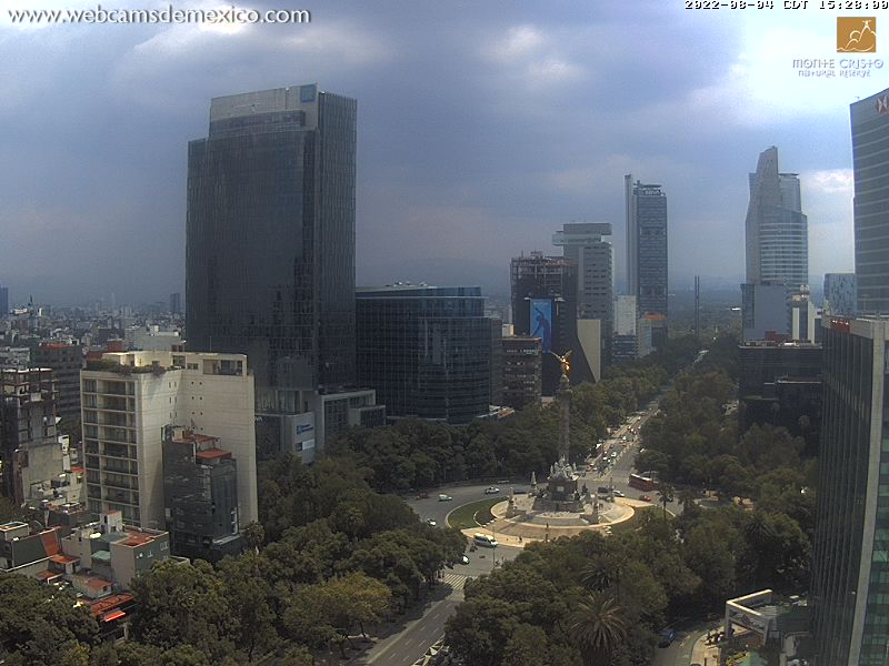 Webcam Mexico City - Mexico
