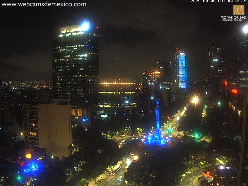 Ángel de la Independencia y Paseo de la Reforma