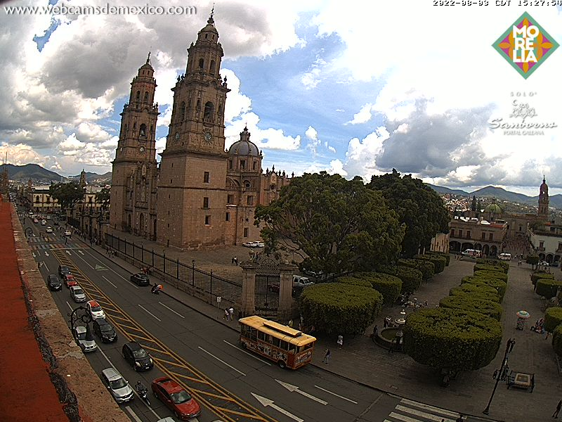 Morelia Centro Live Webcam
