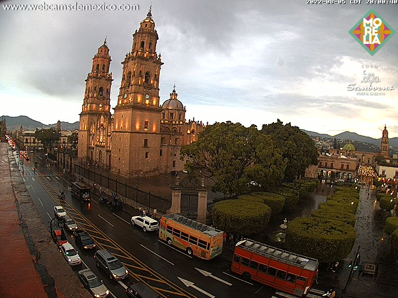 Webcam Morelia Michoacan - Mexico