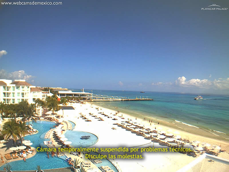 Webcam Playa del Carmen - Mexico