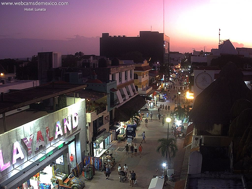 Playa del Carmen webcam - Playa del Carmen, Quintana Roo webcam, Quintana Roo, Solidaridad