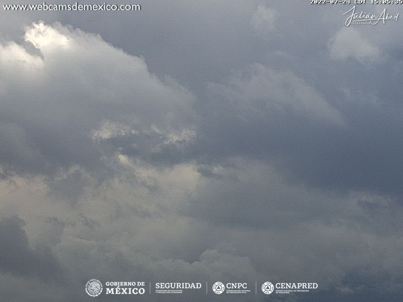 Coyoacan webcam - Volcan Popocatepetl webcam, Mexico City, Mexico City