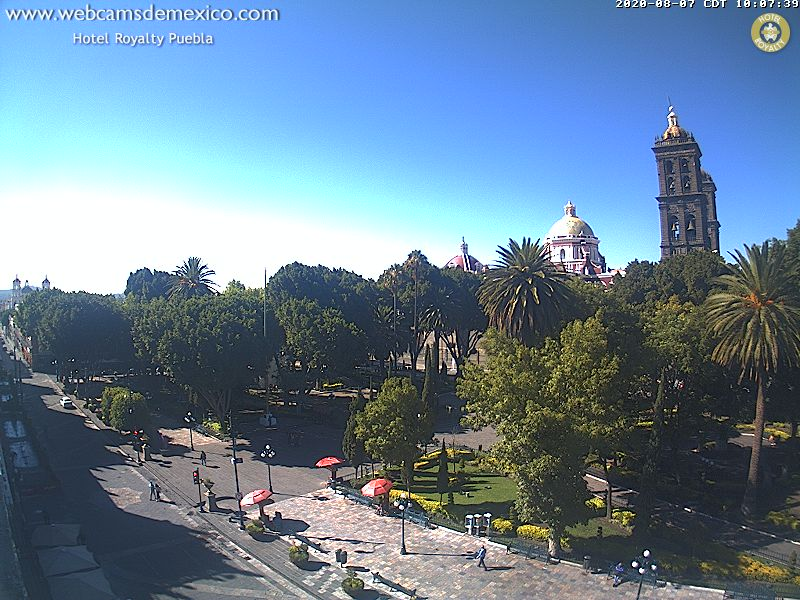 Webcam Puebla de Zaragoza - Mexico