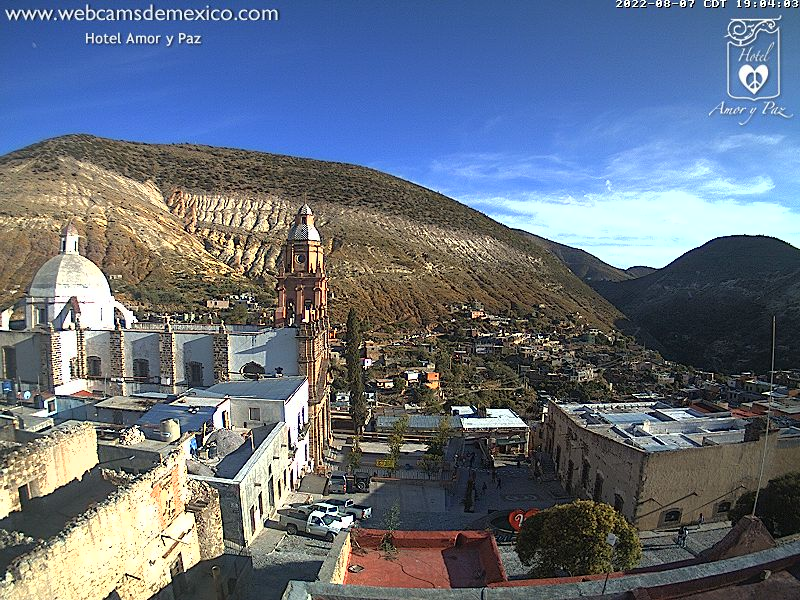 Real de Catorce Live Cam, Mexico