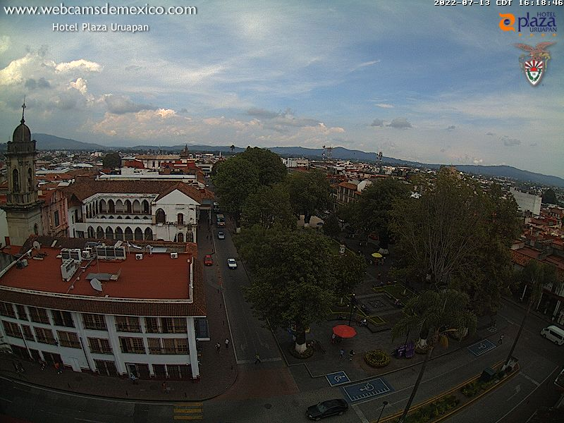 Webcam Plaza de Uruapan