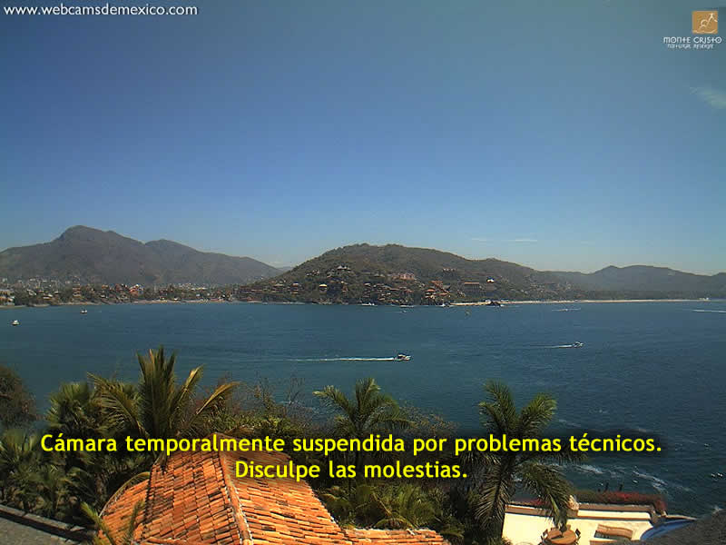 Live webcam of Zihuatanejo Bay