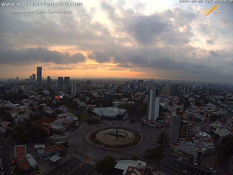 Vista panorámica de la Ciudad de Guadalajara