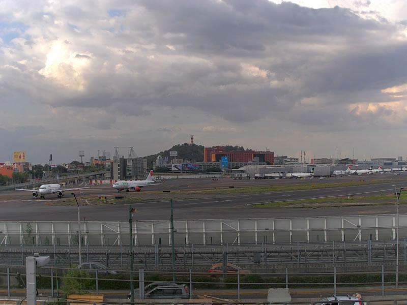 Aeropuerto Internacional CDMX pista 5L