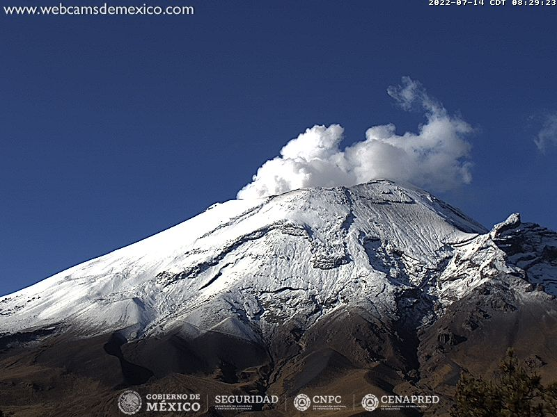 Popocatépetl desde Tlamacas